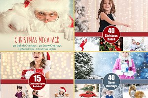 Christmas photography Bundle