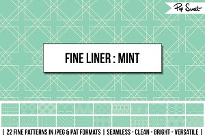 Seamless Fine Liner Mint