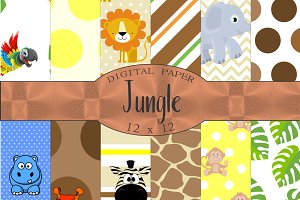 Jungle Digital Paper