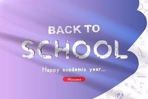 Flyer for Welcome Back to school