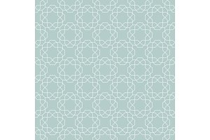 Seamless Geometric Vector Background