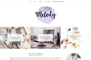 Melody | Blogger Template