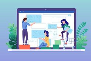Design online store