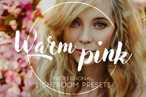 Lightroom Presets | Warm Pink