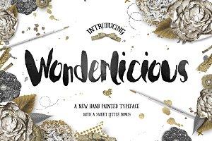 Wonderlicious Typeface