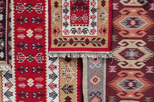 element of the Caucasian kilim patte
