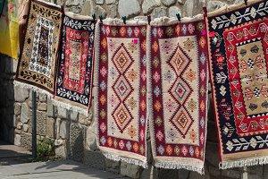 Georgian kilim, hand made carpet fro