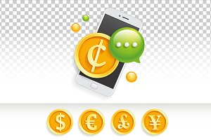Icon banner ad price mobile sms