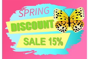 Spring Discount Sale 15 Off