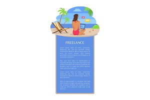 Freelance Poster Template Add Text