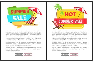 Hot Summer Sale Promotional Vertical