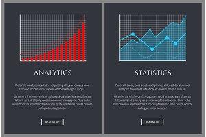 Analytics and Statistics Graphics on