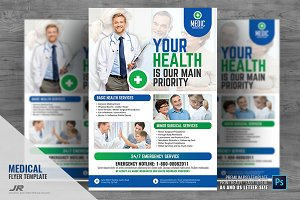 Medical Clinic Promotional Flyer