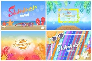 Summer Mood Hot Summer Days Hello