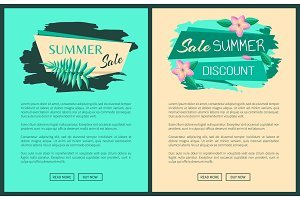 Summer Big Sale Discount Summertime