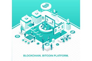 Blockchain and Bitcoin Platform