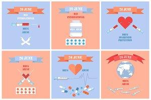 Drug Abuse Awareness Posters