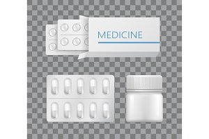 Medicine Packaging Drugs Silver