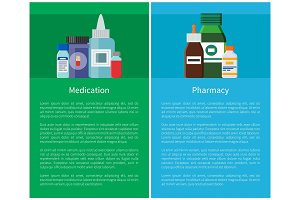 Medication Pharmacy Posters