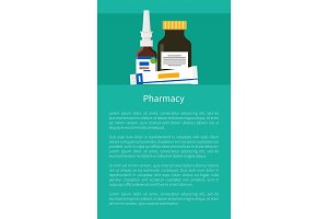 Pharmacy Poster with Nasal Drops