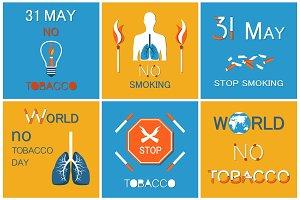 World no Smoking Day on 31 May