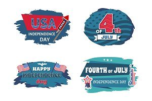 USA Independence Collection Vector
