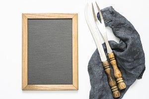 Vintage kitchen utensils and