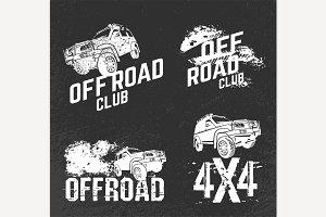 Off Road Club Logos