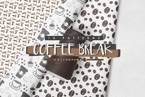 10 Coffee Inspired Patterns