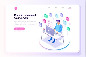 Program Developer for Website Banner