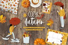 Cozy Autumn graphic collection