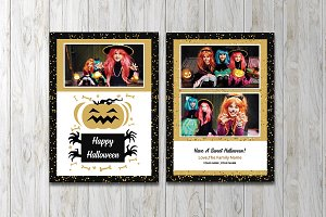 Halloween Greeting Card V850