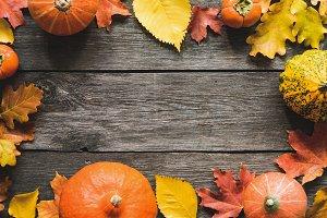 Beautiful Autumn Frame