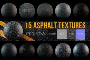 15 Asphalt Textures