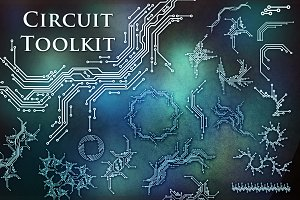 Circuit Toolkit(SVG/PNG/EPS/ABR)