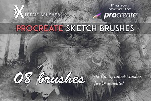 Procreate Sketch Brushes