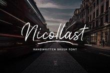 Nicollast Handwritten Brush Font