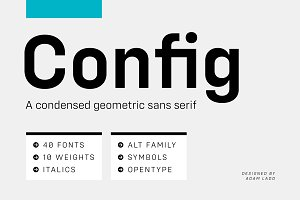 Config Complete Font Family