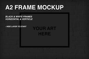 A2 Frame Mockup