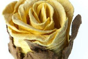 cardboard flower