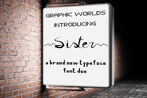 Sister Font Duo