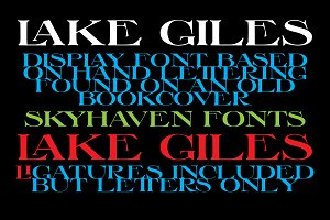 Lake Giles