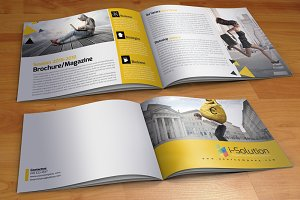 4 Business Bi Fold Brochure