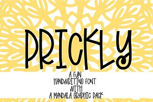 Prickly - With Mandala Extras
