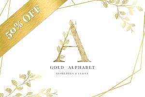 Gold Alphabet - Wedding Package