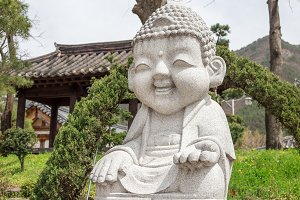 Budda statue in buddhist temple Song