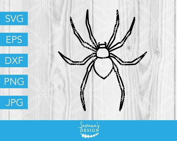 Halloween Spider Svg Cut File Pre Designed Vector Graphics Creative Market
