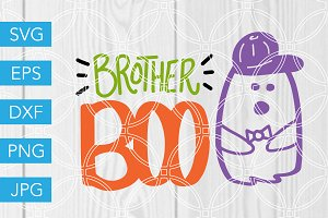 Brother Boo Ghost SVG Cut File