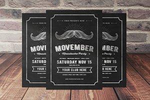 Movember Flyer