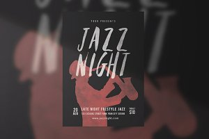 Jazz Music Flyer